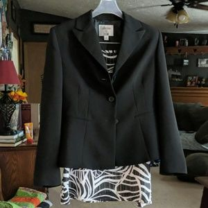 Blazer and Skirt size Petite small